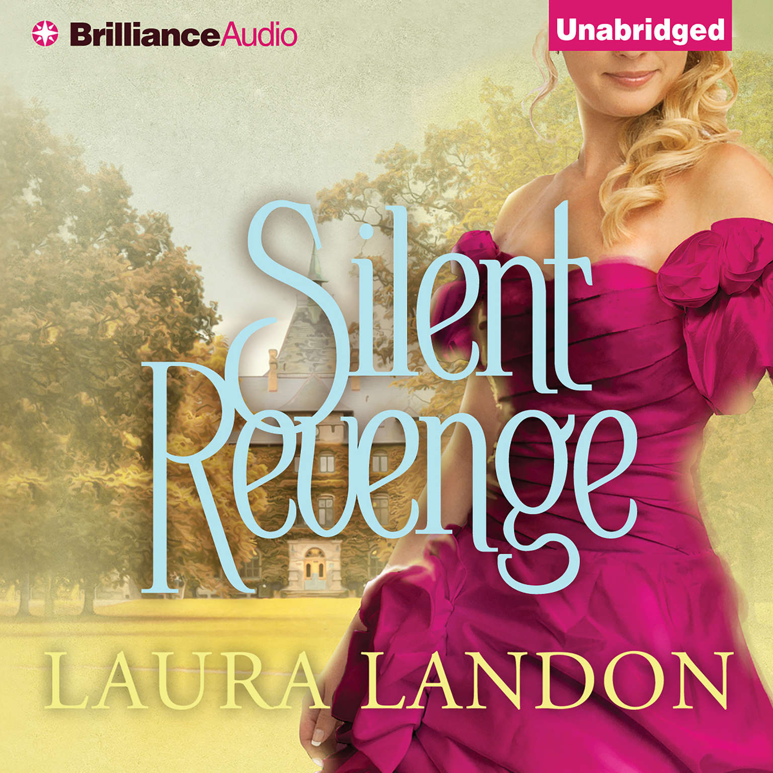 Printable Silent Revenge Audiobook Cover Art