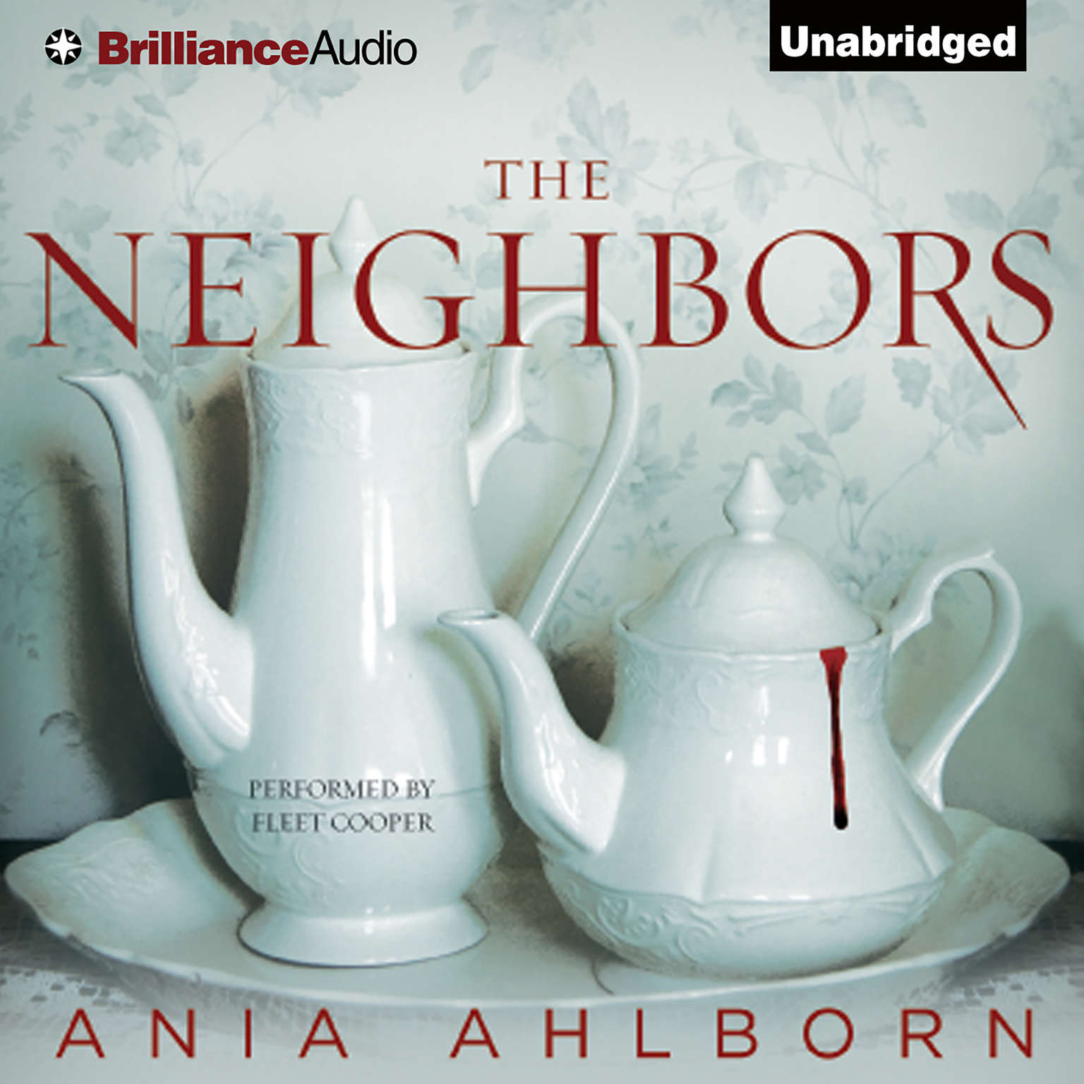 Printable The Neighbors Audiobook Cover Art