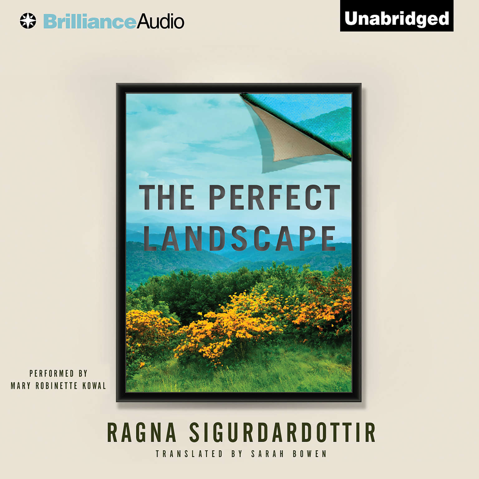 Printable The Perfect Landscape Audiobook Cover Art