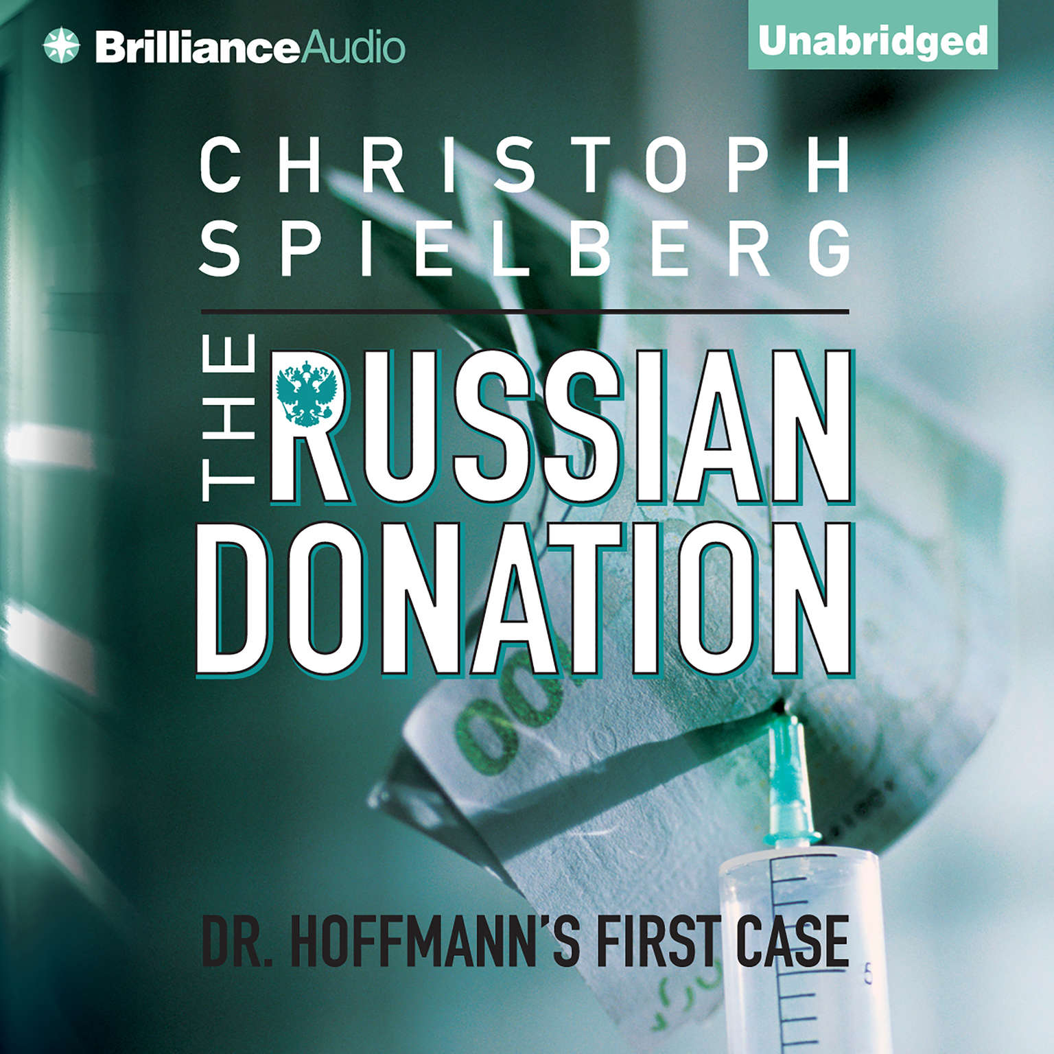 Printable The Russian Donation Audiobook Cover Art