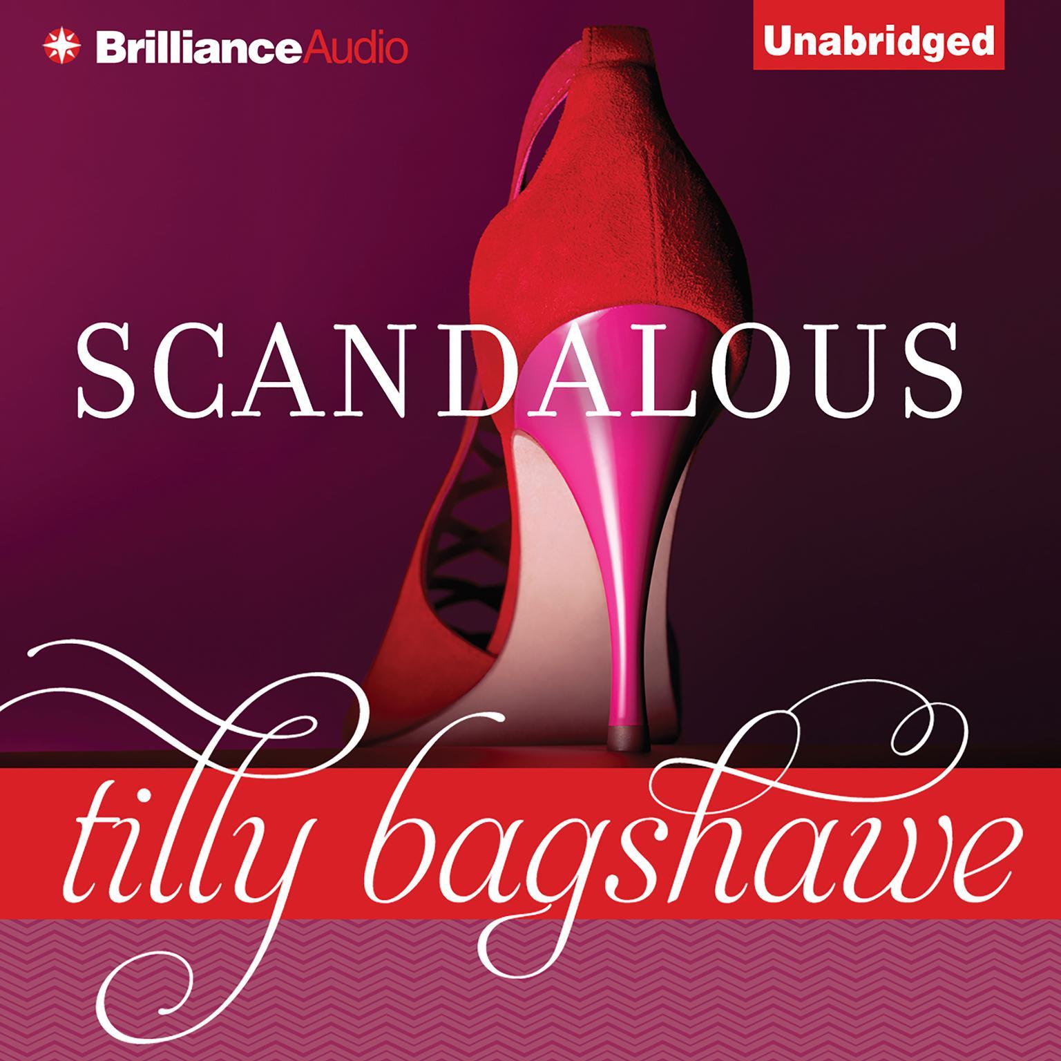 Printable Scandalous Audiobook Cover Art