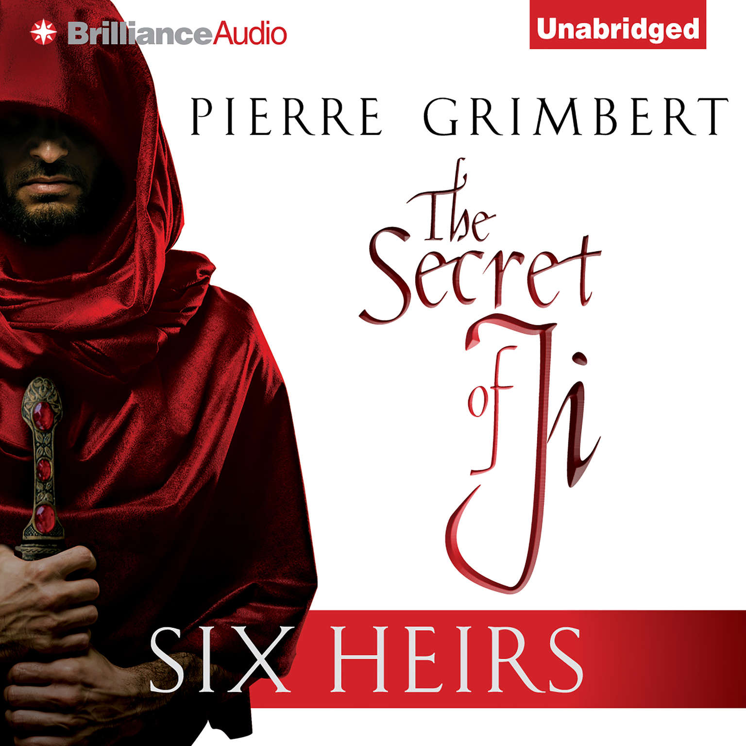 Printable Six Heirs Audiobook Cover Art