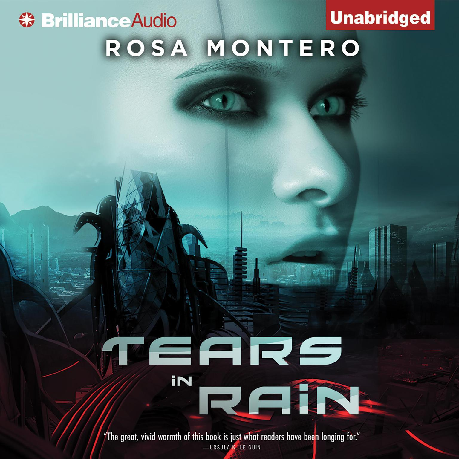 Printable Tears in Rain Audiobook Cover Art