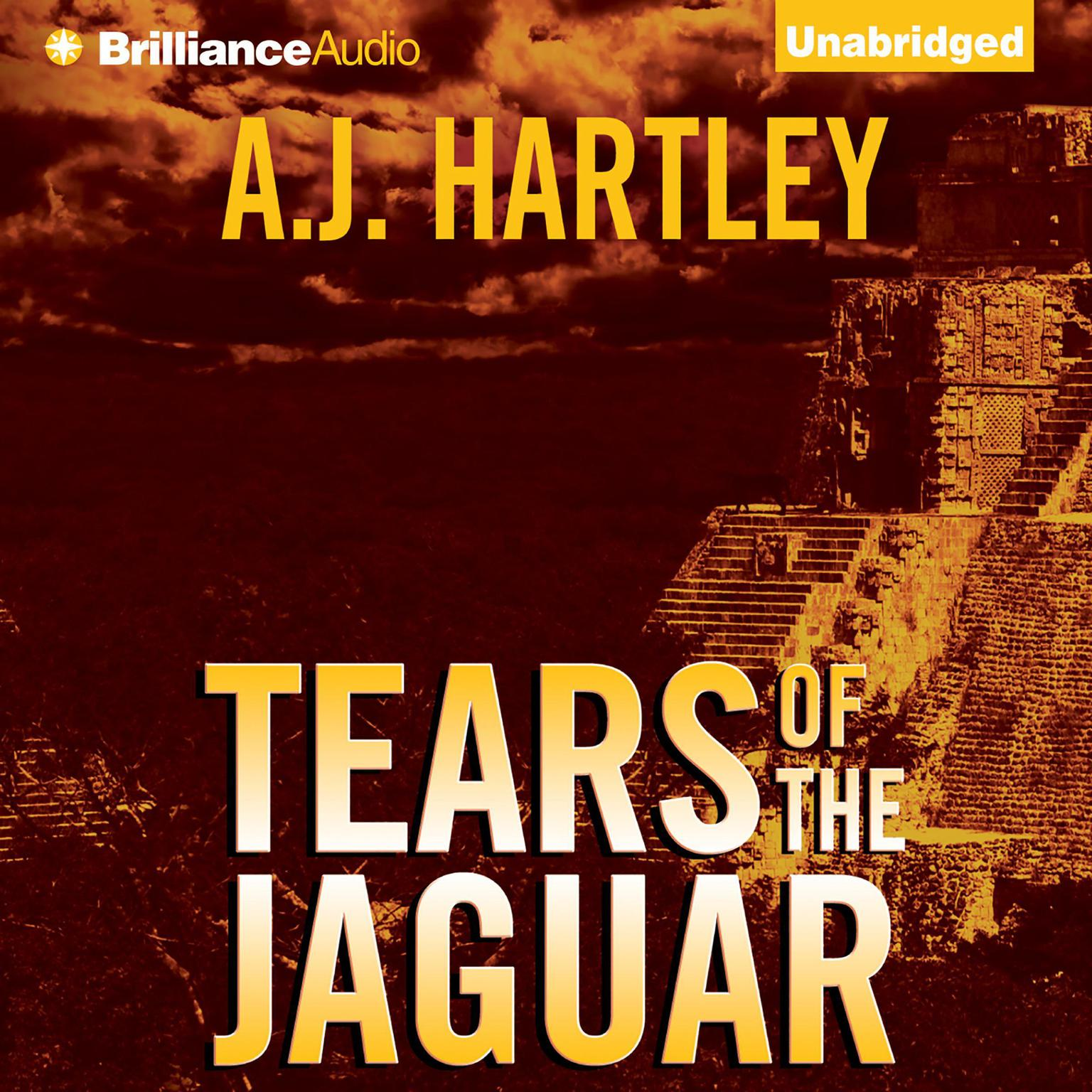 Printable Tears of the Jaguar: A Novel Audiobook Cover Art