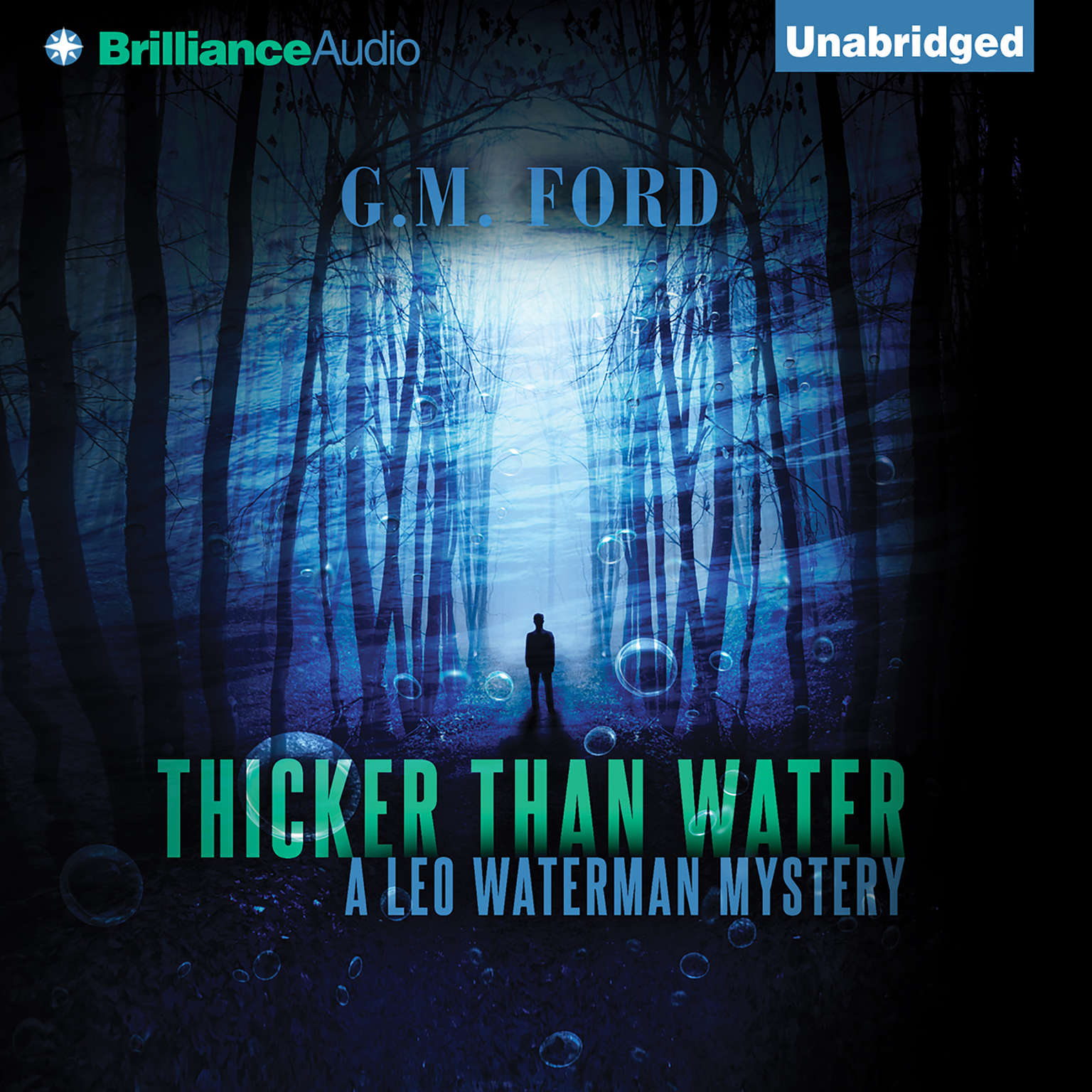 Printable Thicker than Water Audiobook Cover Art