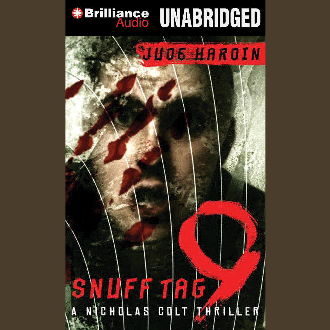 Printable Snuff Tag 9 Audiobook Cover Art