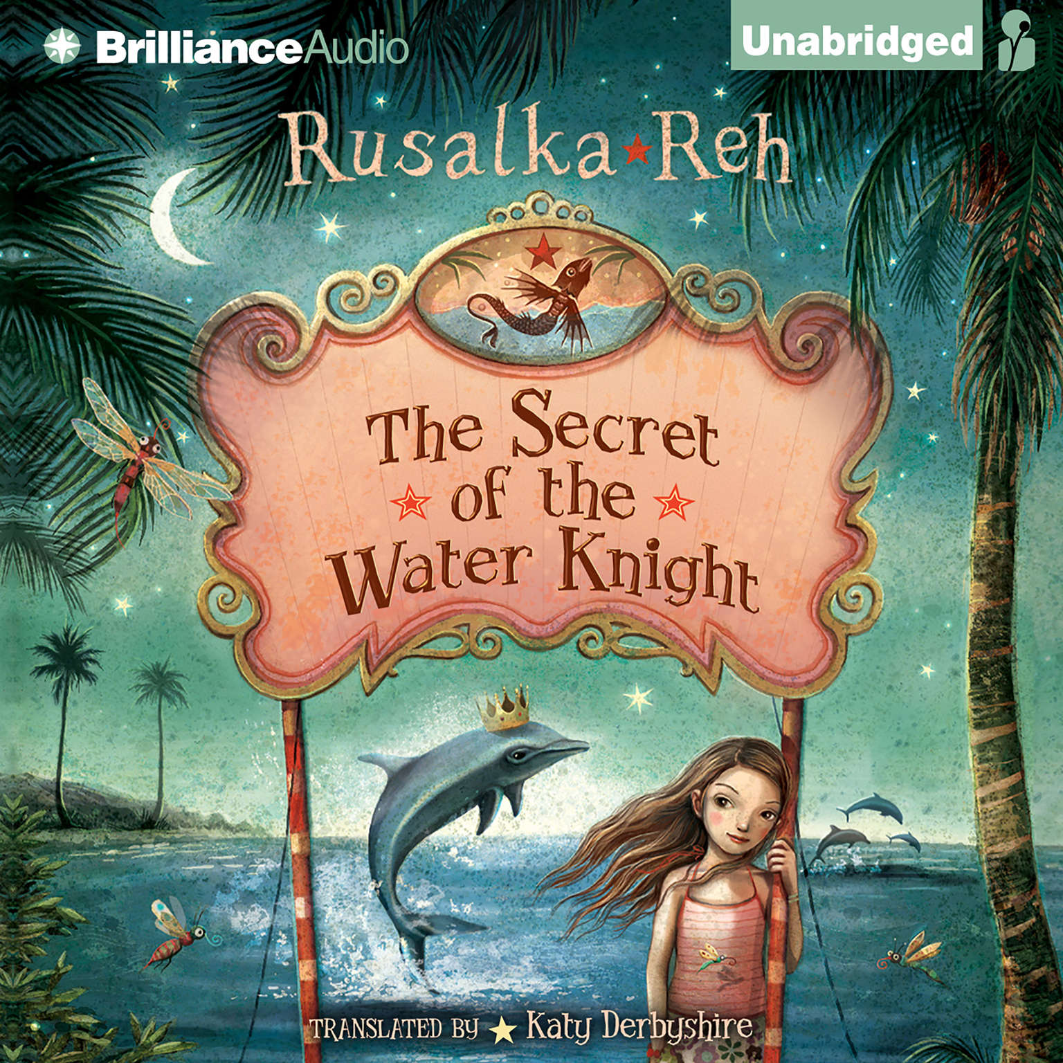 Printable The Secret of the Water Knight Audiobook Cover Art