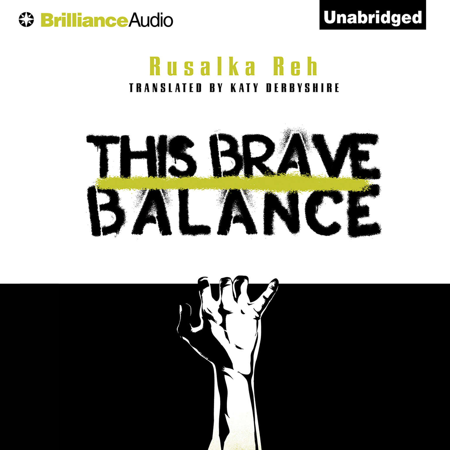 Printable This Brave Balance Audiobook Cover Art