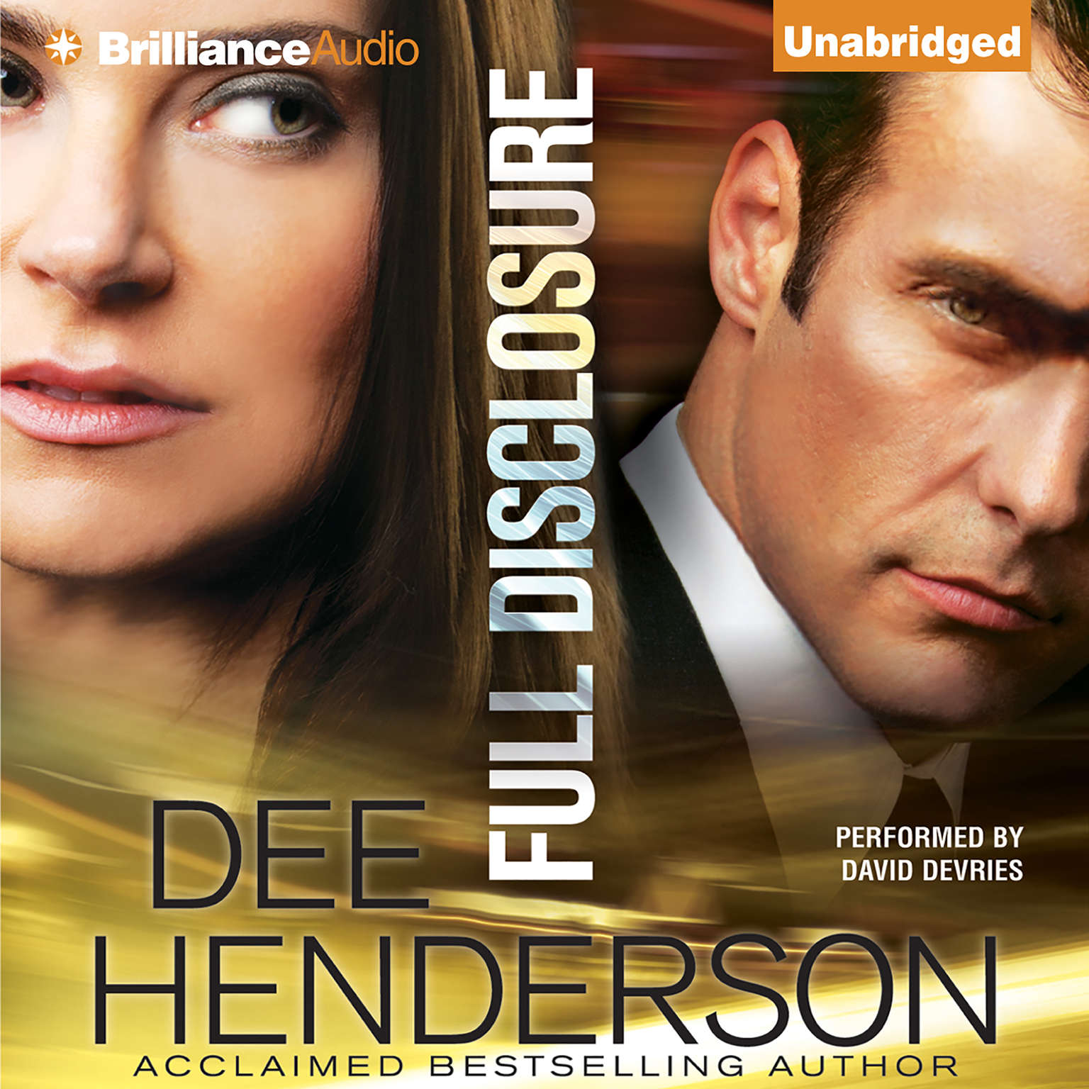 Printable Full Disclosure Audiobook Cover Art