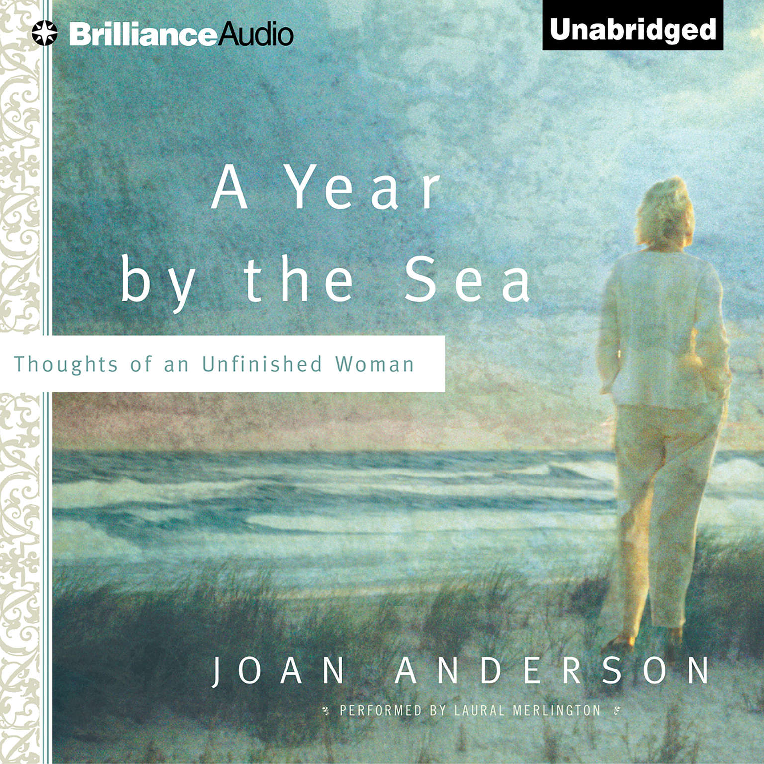 Printable A Year by the Sea: Thoughts of an Unfinished Woman Audiobook Cover Art