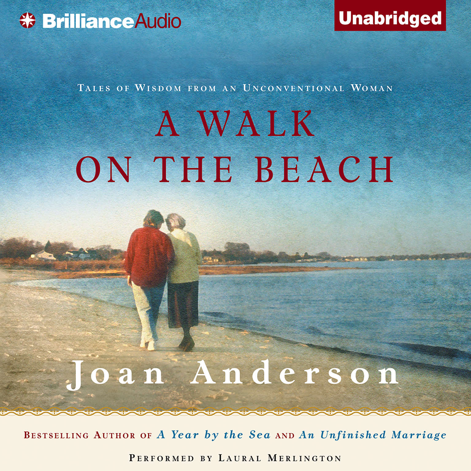 Printable A Walk on the Beach: Tales of Wisdom from an Unconventional Woman Audiobook Cover Art