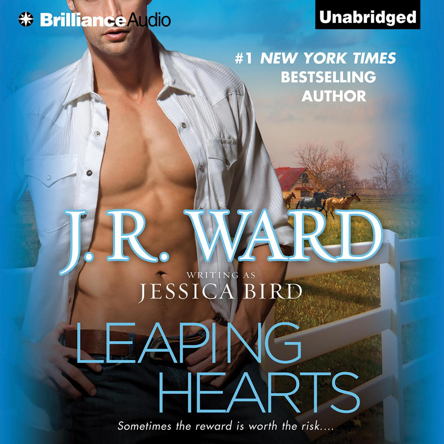Printable Leaping Hearts Audiobook Cover Art