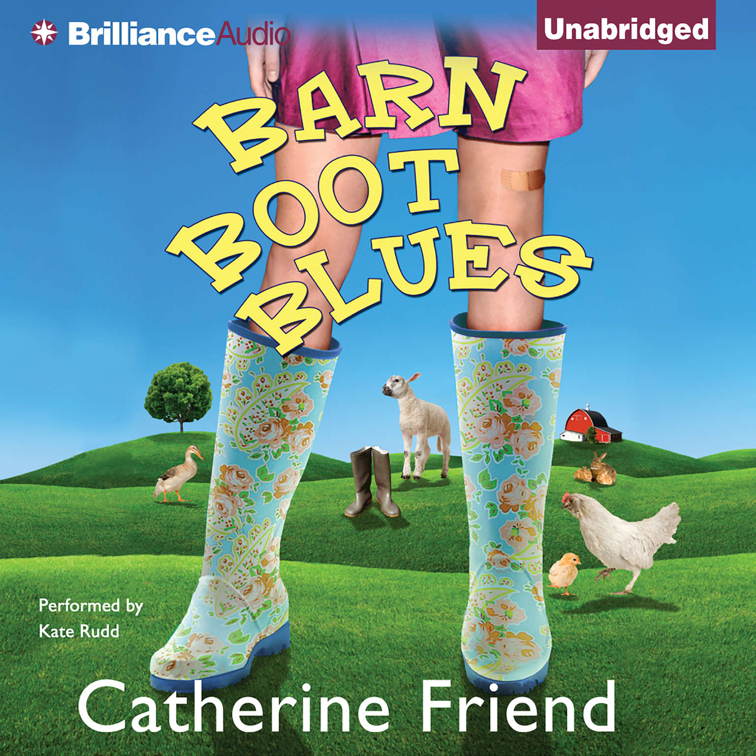 Printable Barn Boot Blues Audiobook Cover Art