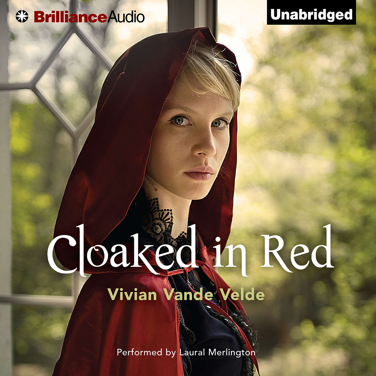 Printable Cloaked in Red Audiobook Cover Art