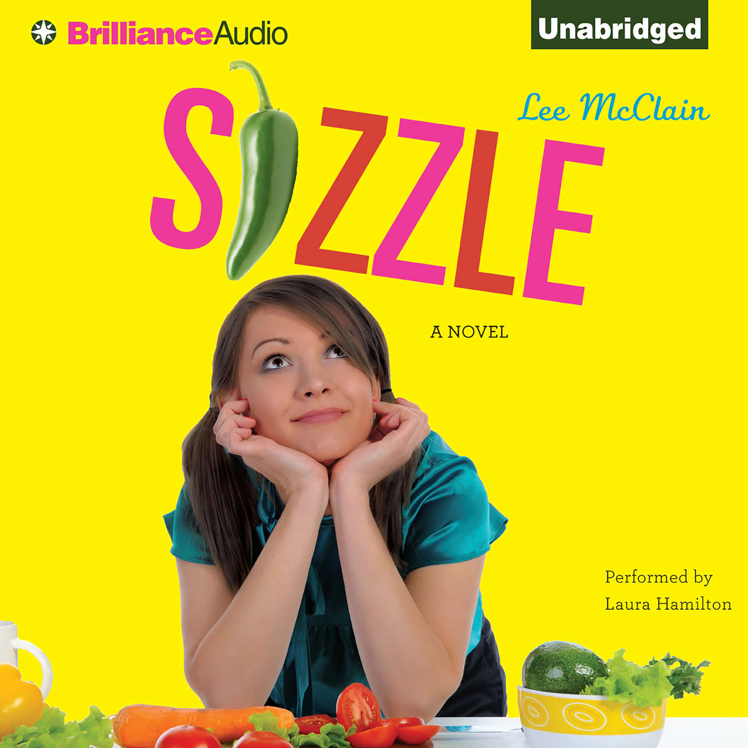 Printable Sizzle: A Novel Audiobook Cover Art