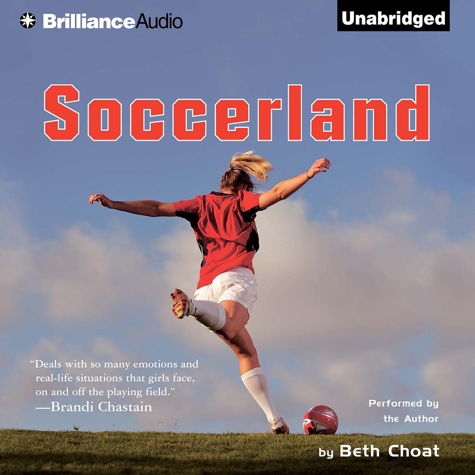 Printable Soccerland Audiobook Cover Art