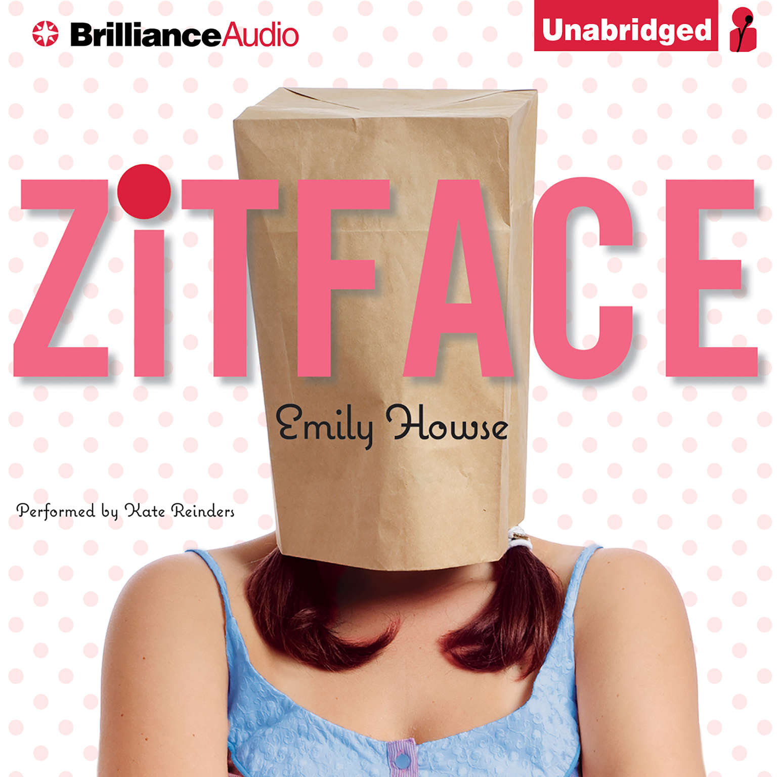 Printable Zitface Audiobook Cover Art