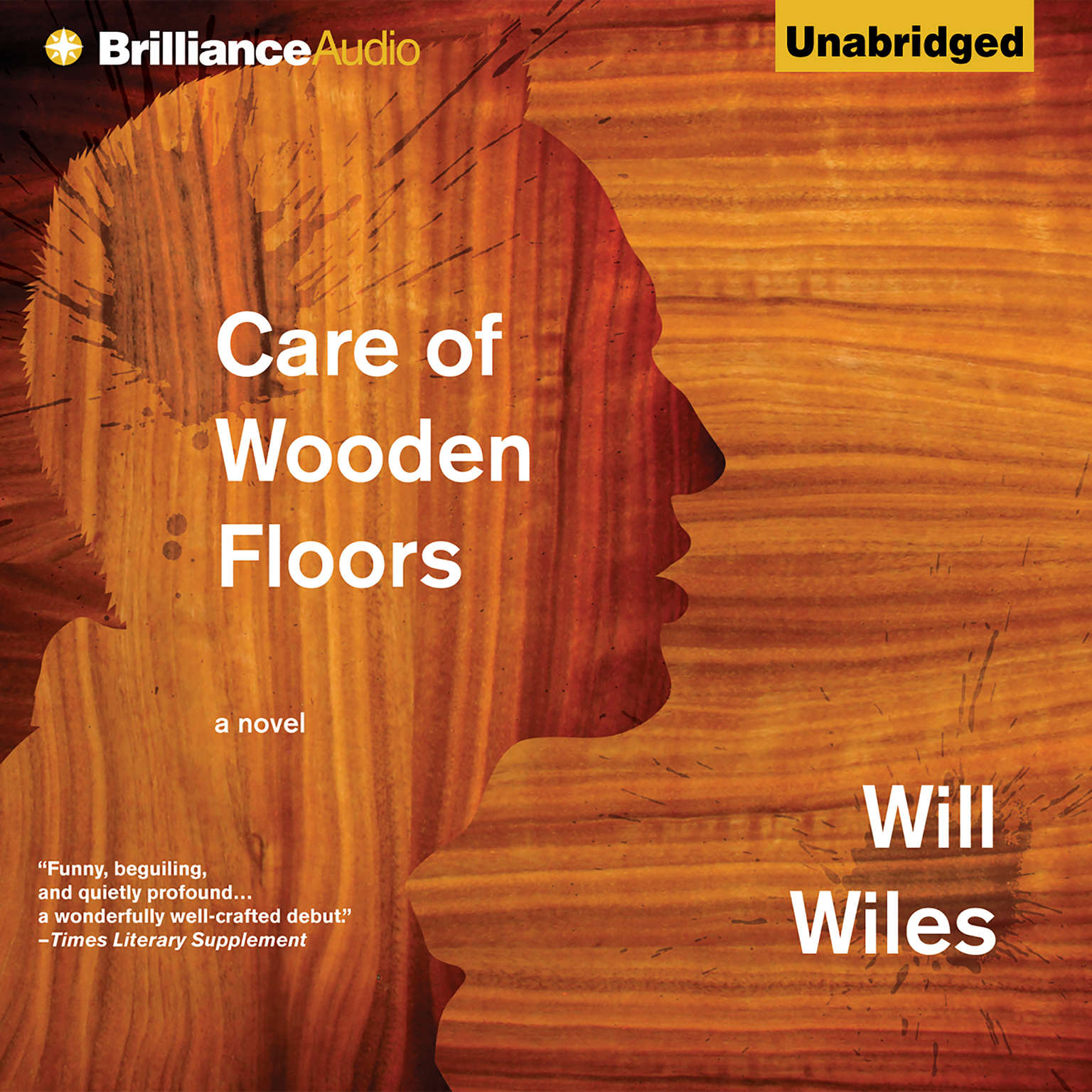 Printable Care of Wooden Floors: A Novel Audiobook Cover Art