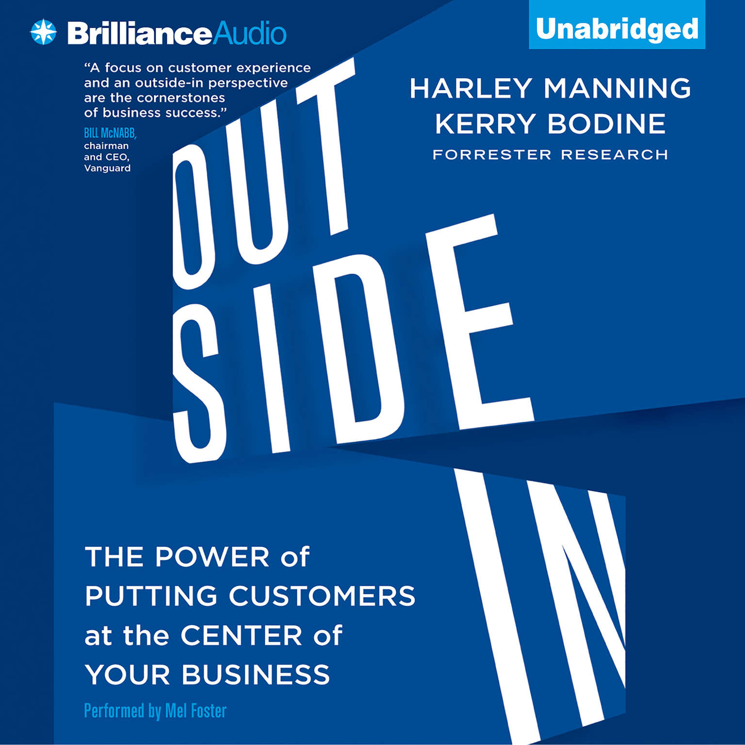 Printable Outside In: The Power of Putting Customers at the Center of Your Business Audiobook Cover Art