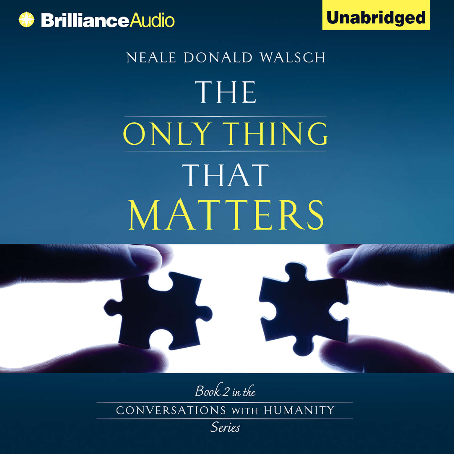 Printable The Only Thing That Matters Audiobook Cover Art