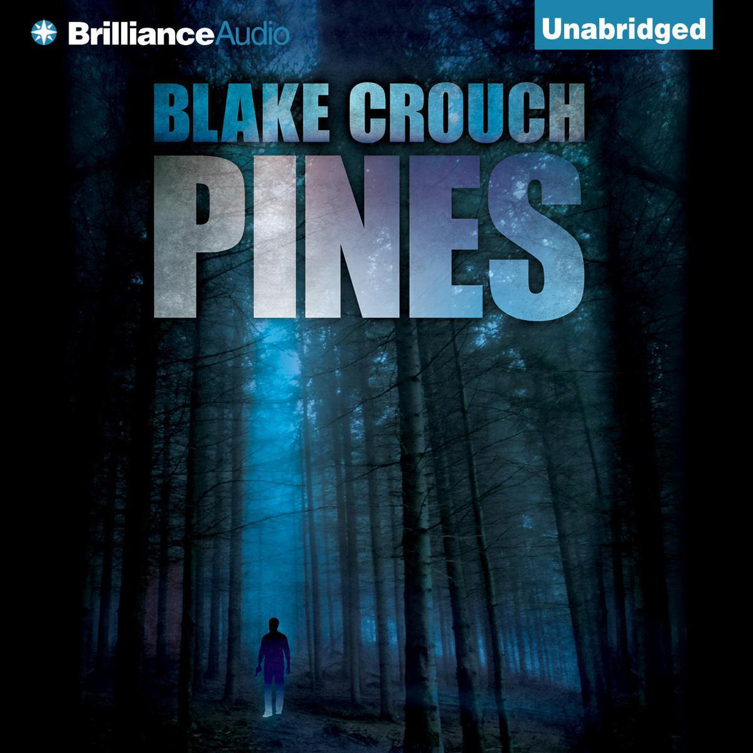 Printable Pines Audiobook Cover Art