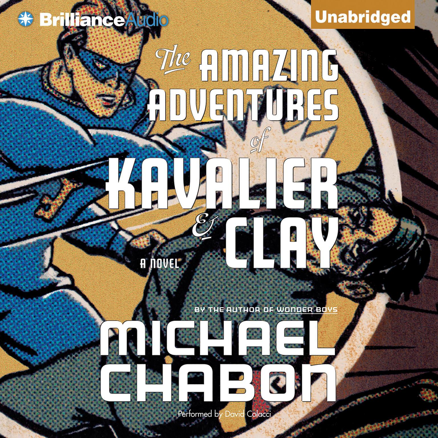 Printable The Amazing Adventures of Kavalier & Clay Audiobook Cover Art