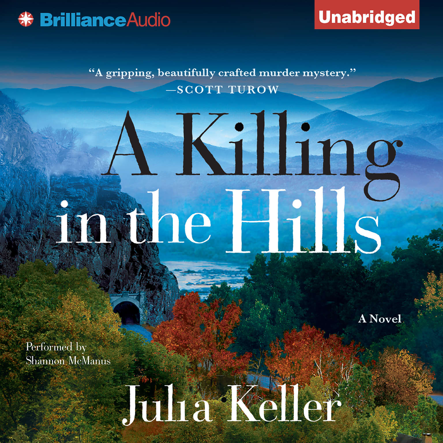 Printable A Killing in the Hills: A Novel Audiobook Cover Art
