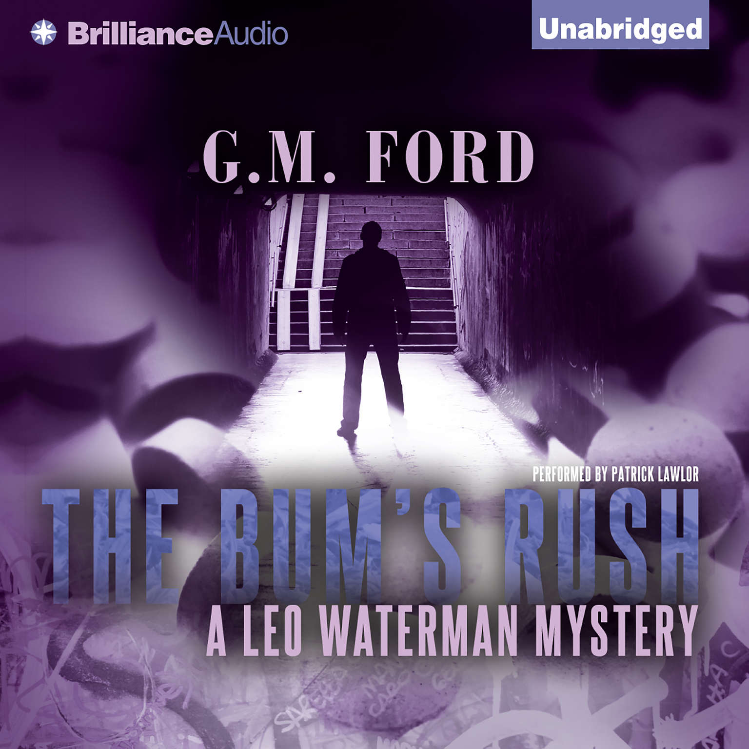 Printable The Bum's Rush: A Leo Waterman Mystery Audiobook Cover Art