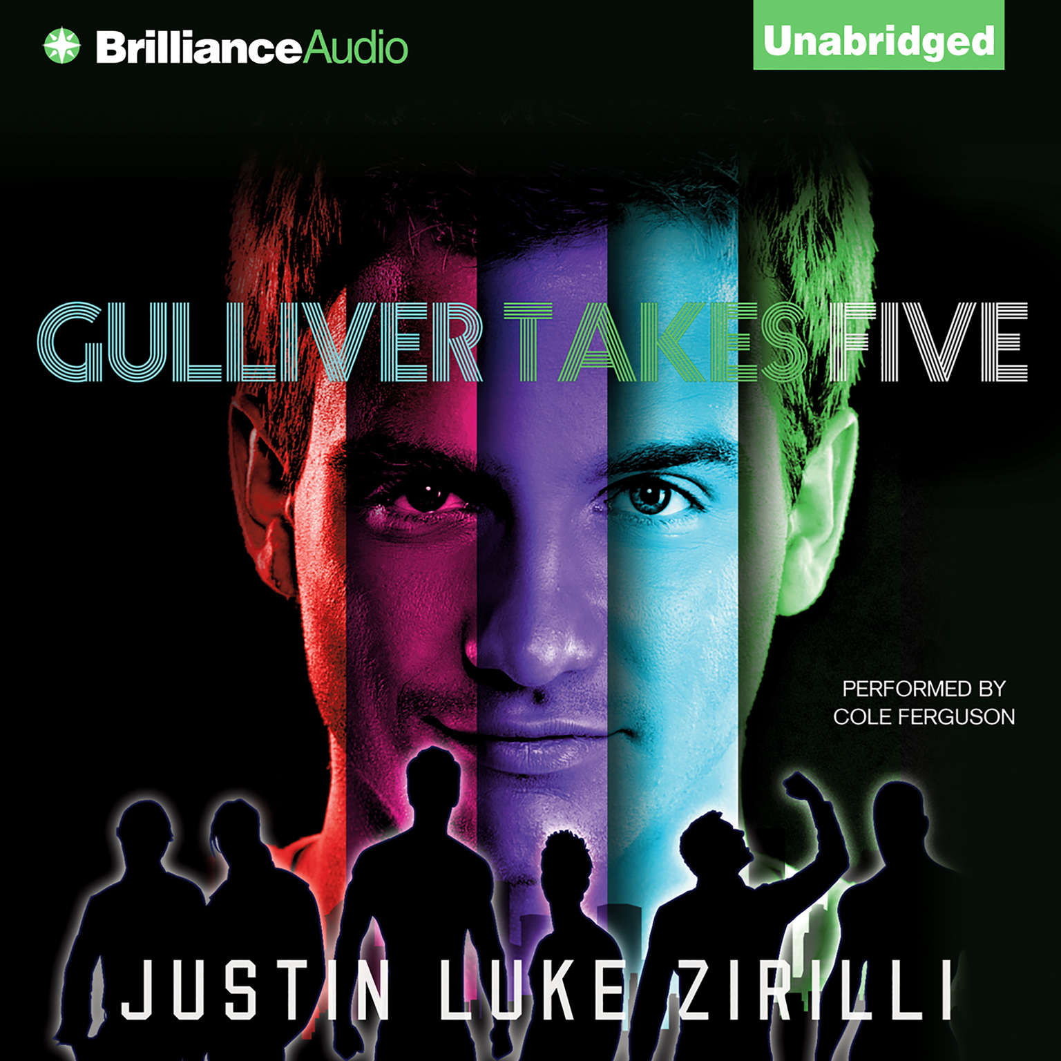 Printable Gulliver Takes Five Audiobook Cover Art