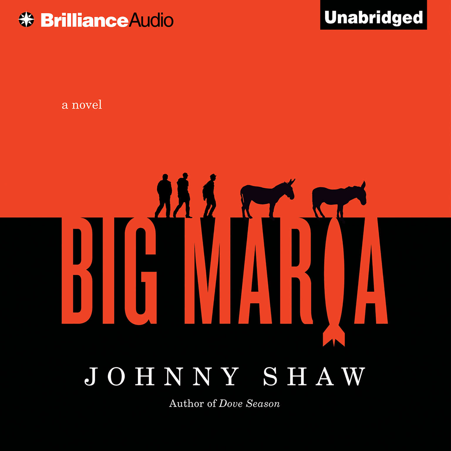 Printable Big Maria Audiobook Cover Art