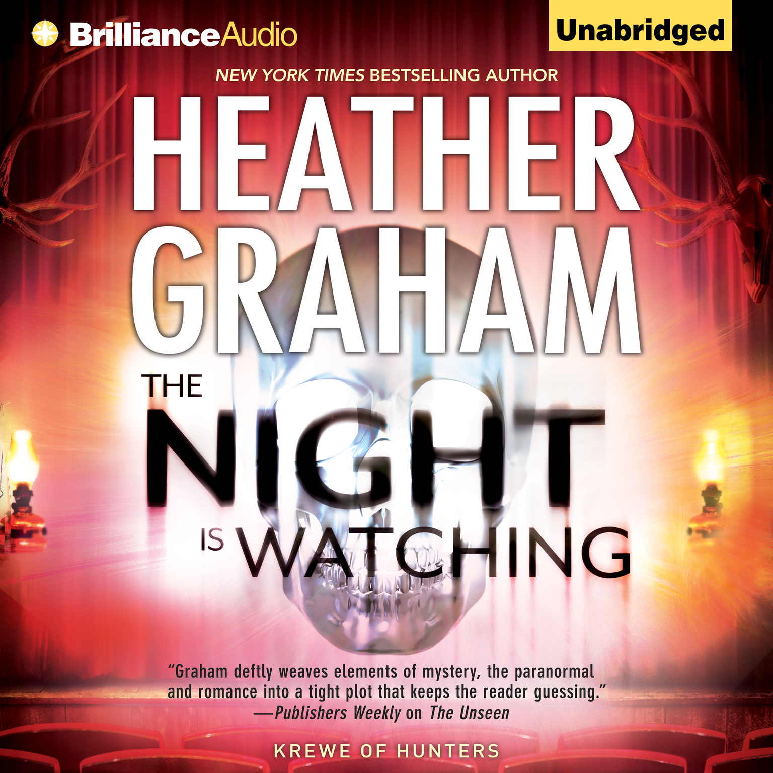 Printable The Night Is Watching Audiobook Cover Art