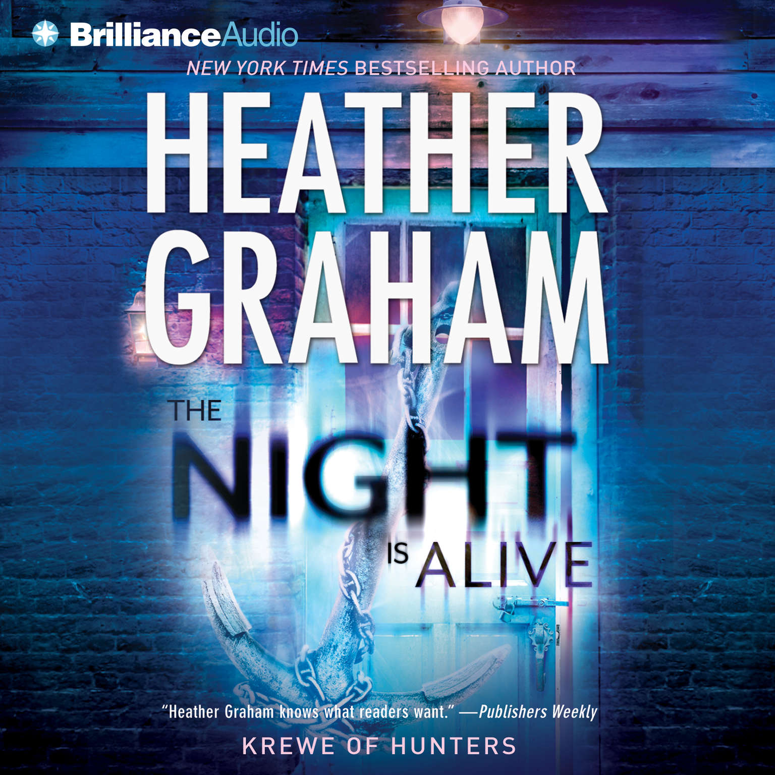 Printable The Night Is Alive Audiobook Cover Art