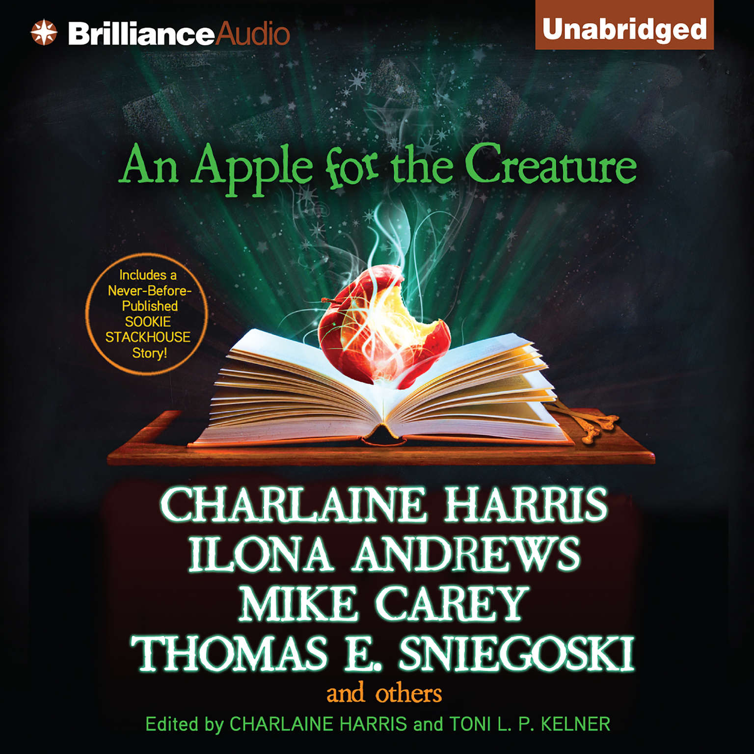 Printable An Apple for the Creature Audiobook Cover Art