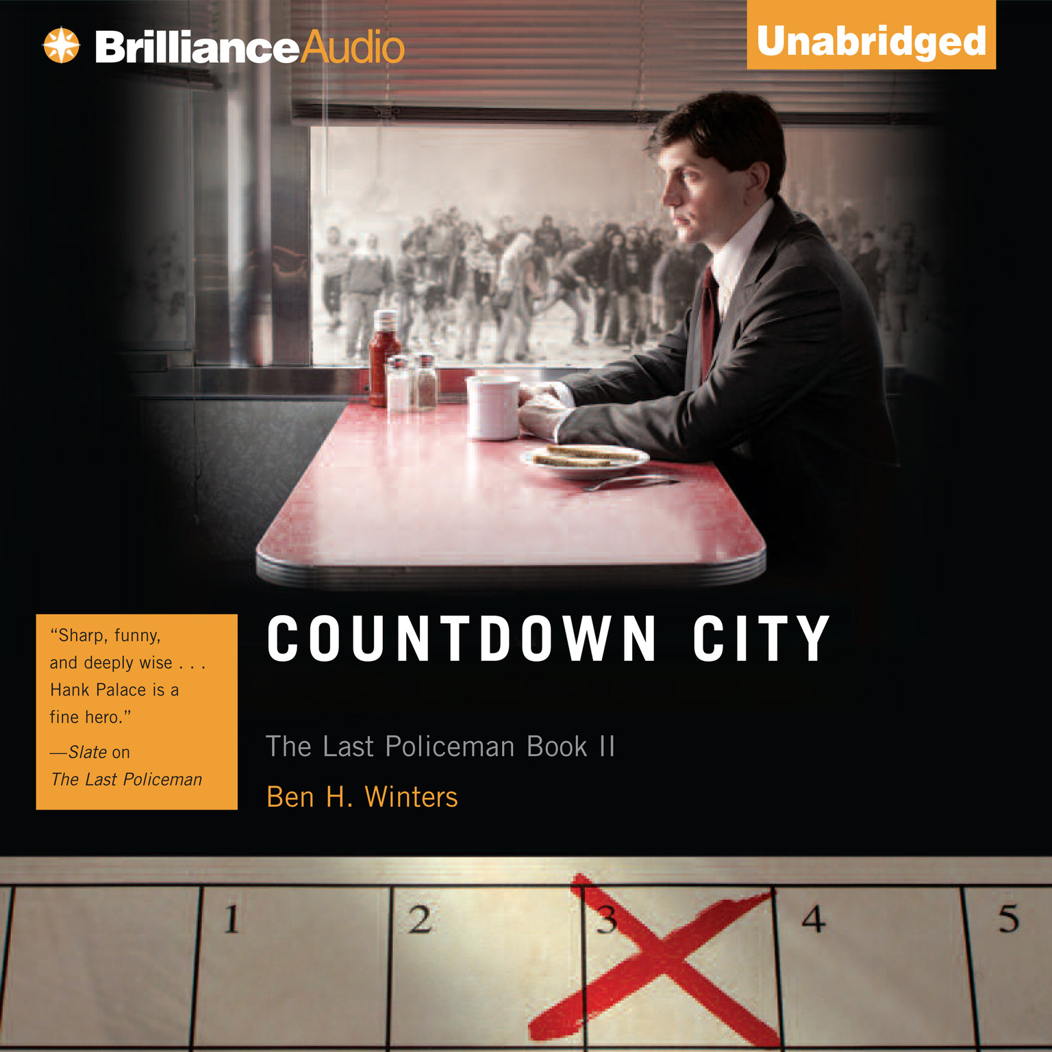 Printable Countdown City Audiobook Cover Art