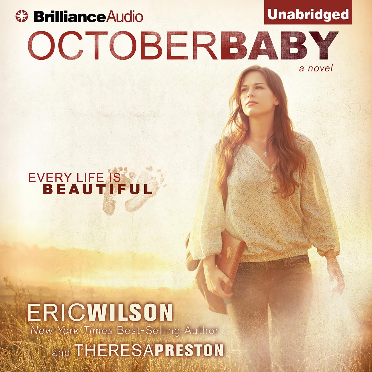 Printable October Baby Audiobook Cover Art