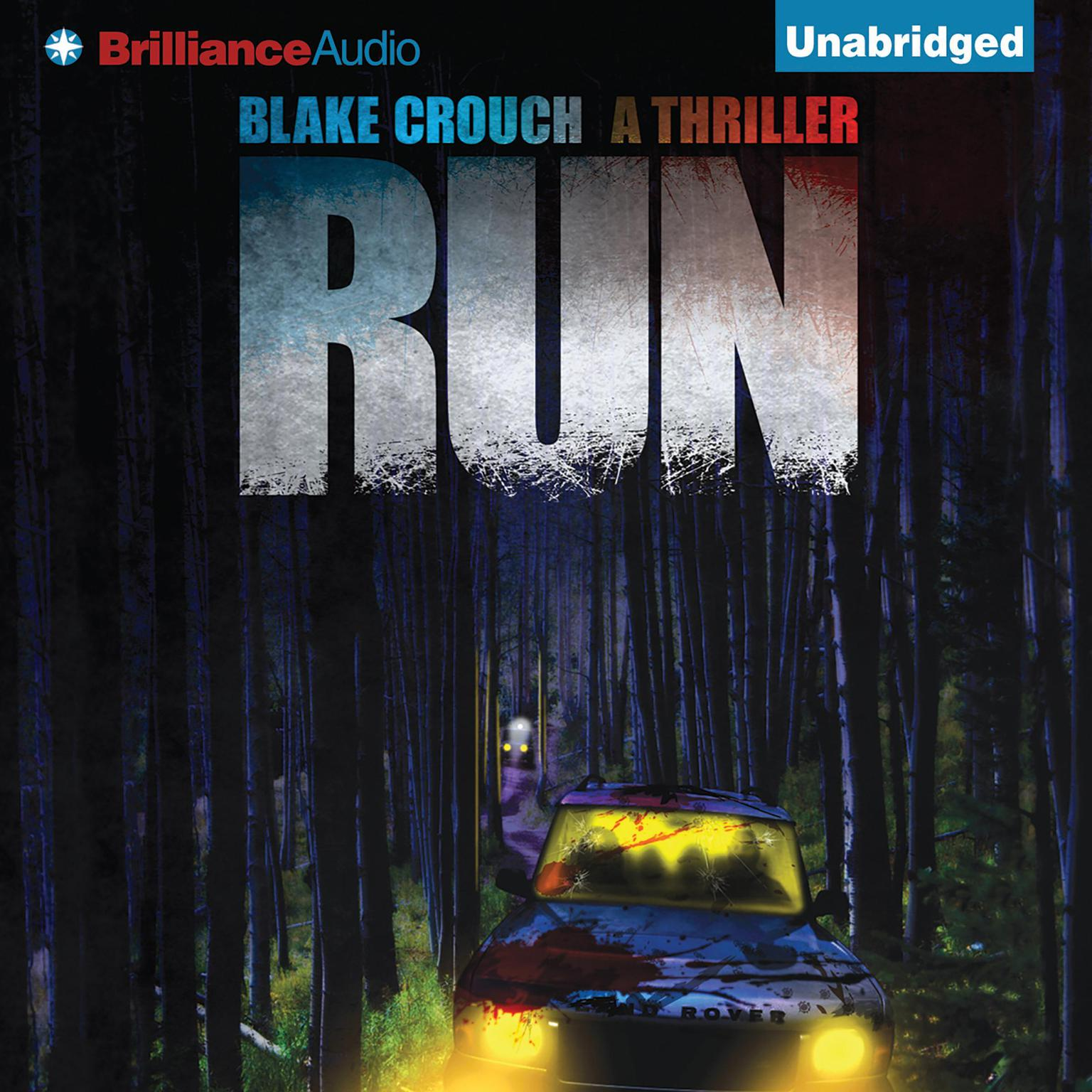 Printable Run: A Thriller Audiobook Cover Art