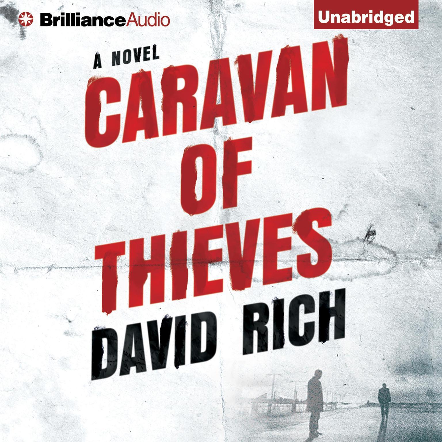 Printable Caravan of Thieves: A Novel Audiobook Cover Art
