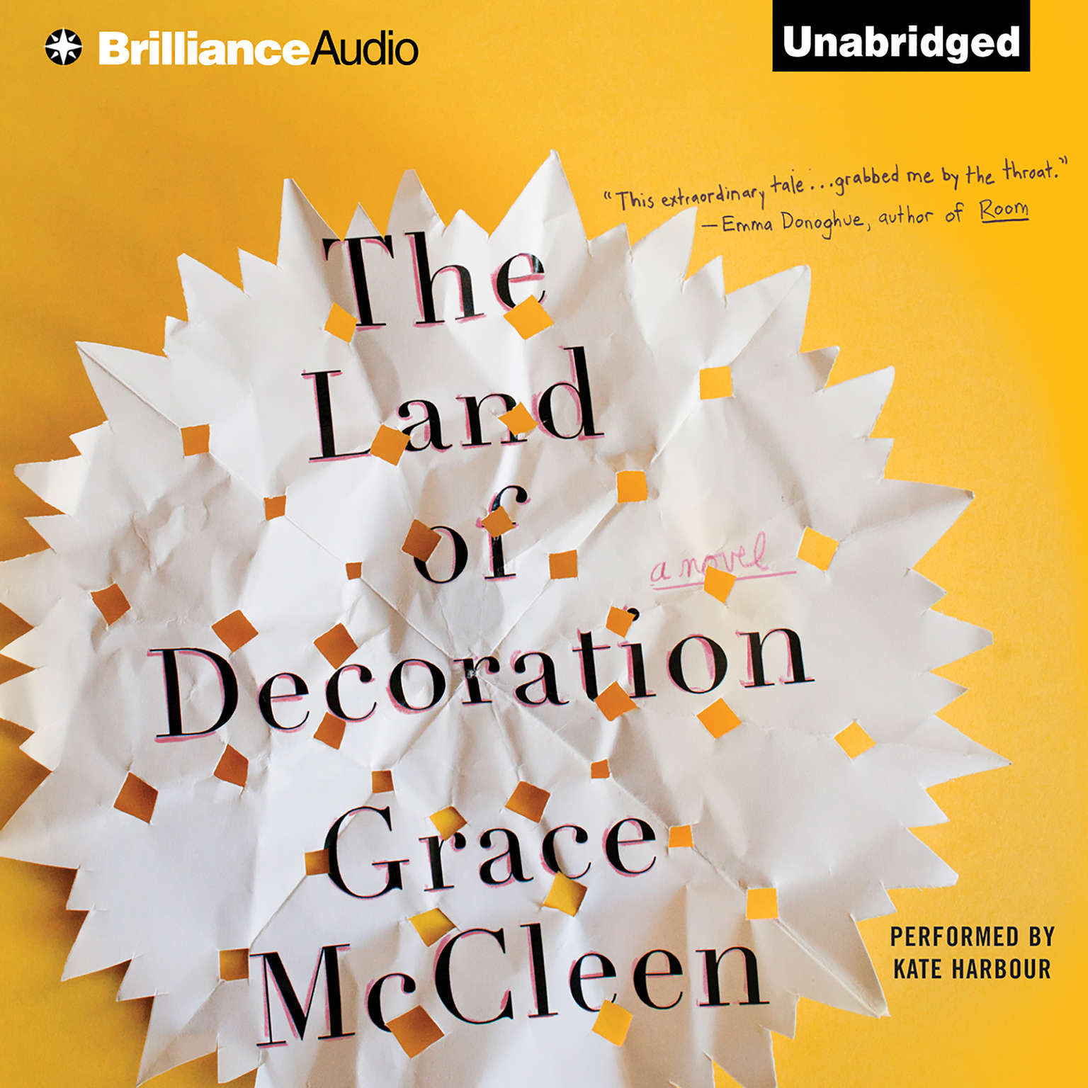 Printable The Land of Decoration: A Novel Audiobook Cover Art