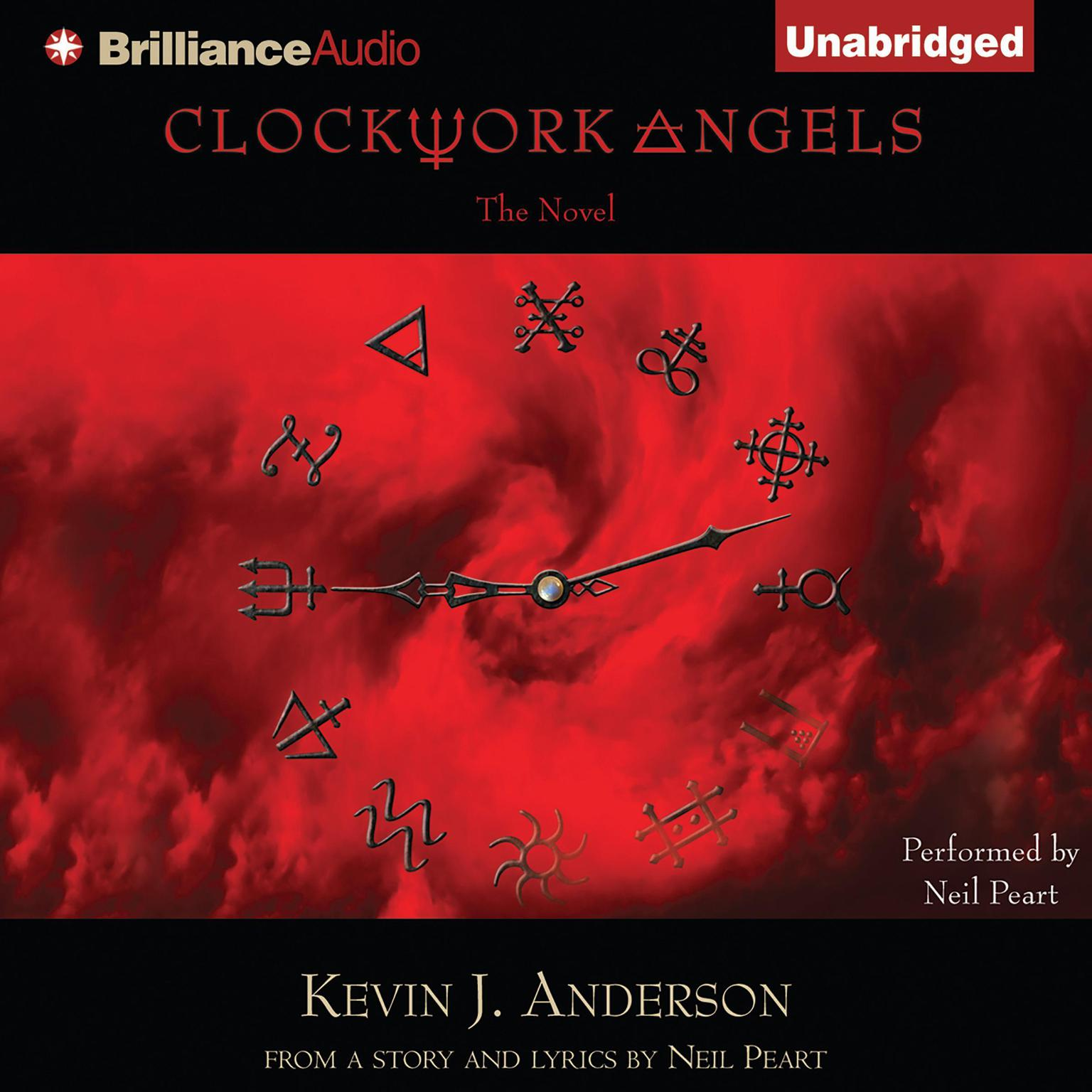 Printable Clockwork Angels: The Novel Audiobook Cover Art