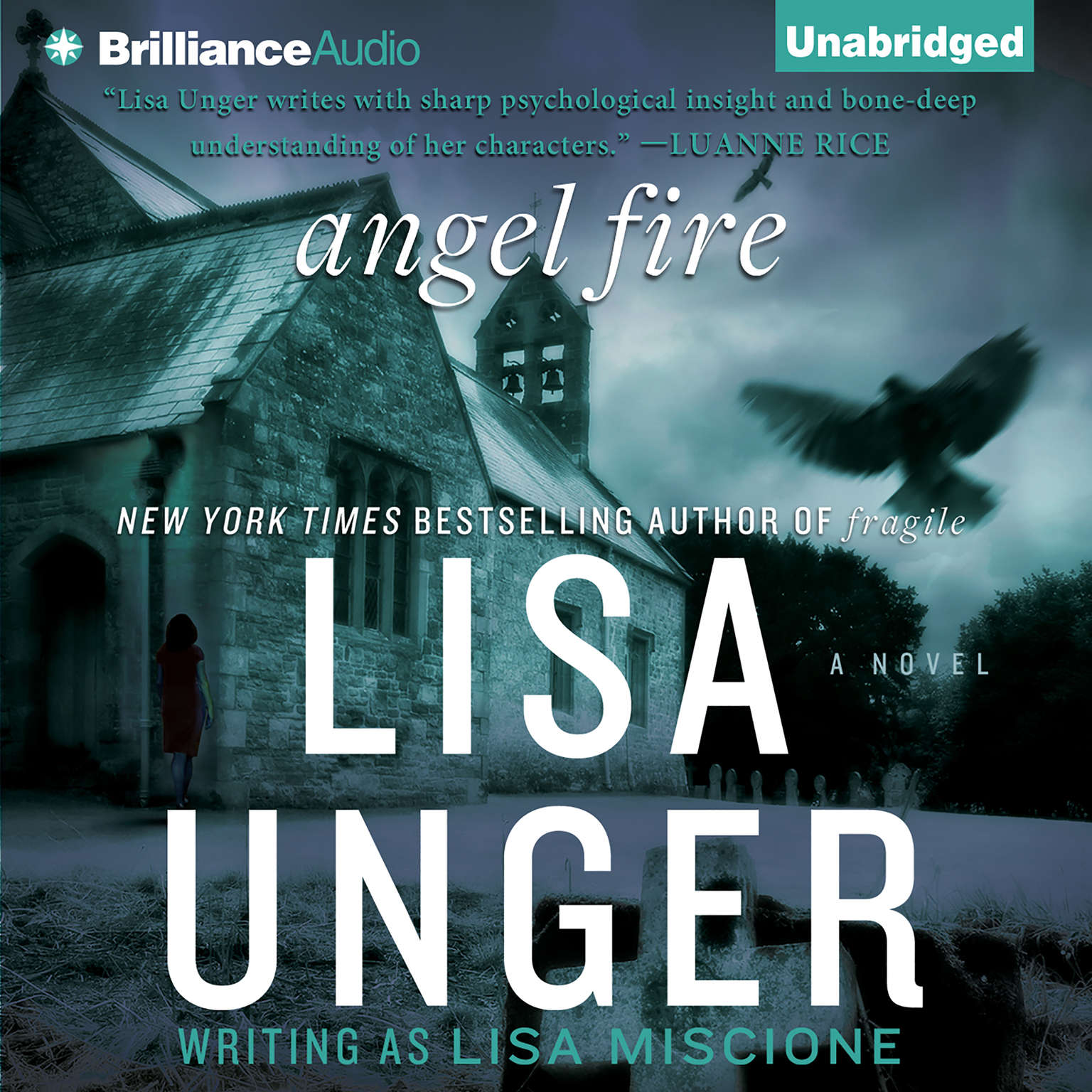 Printable Angel Fire: A Novel Audiobook Cover Art