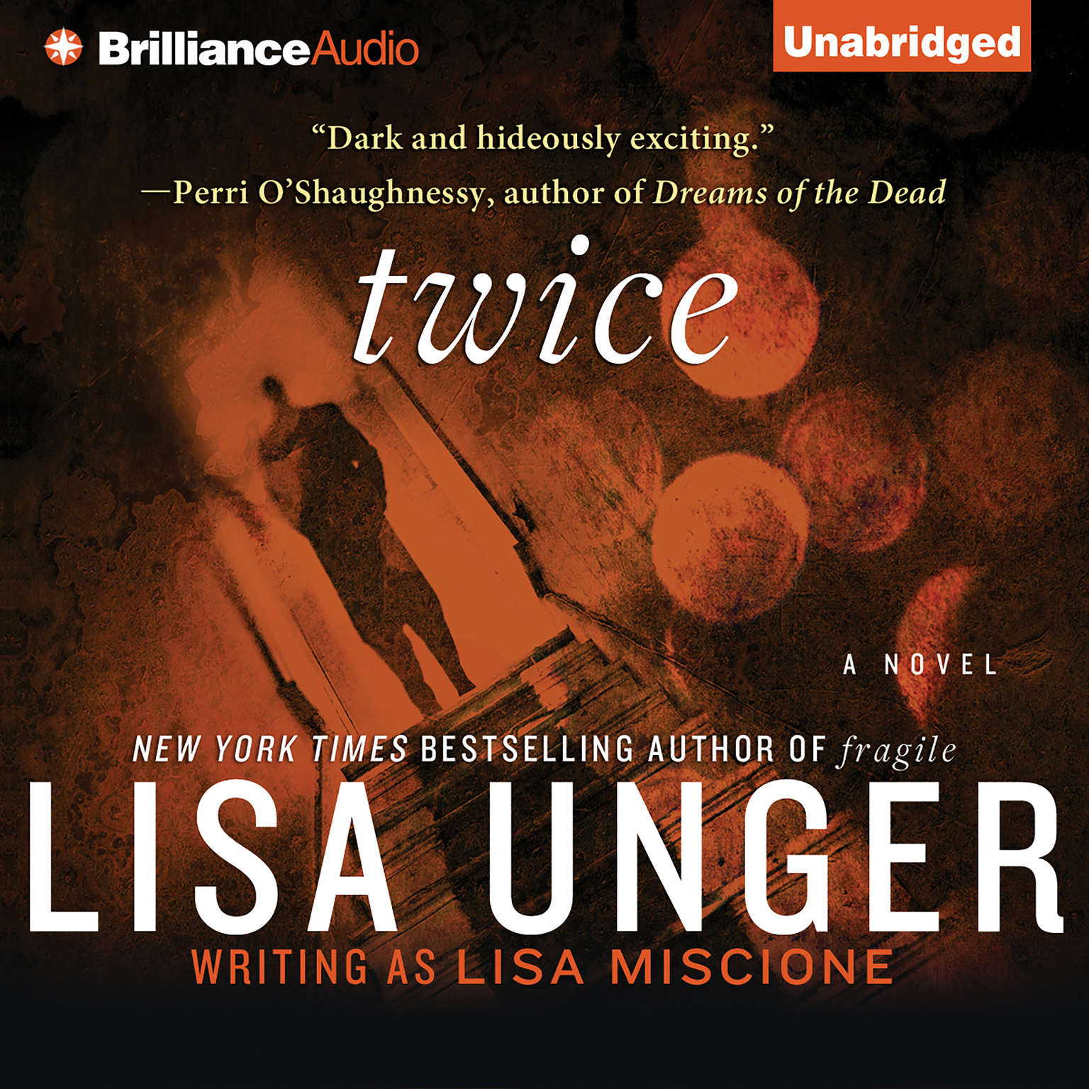 Printable Twice: A Novel Audiobook Cover Art