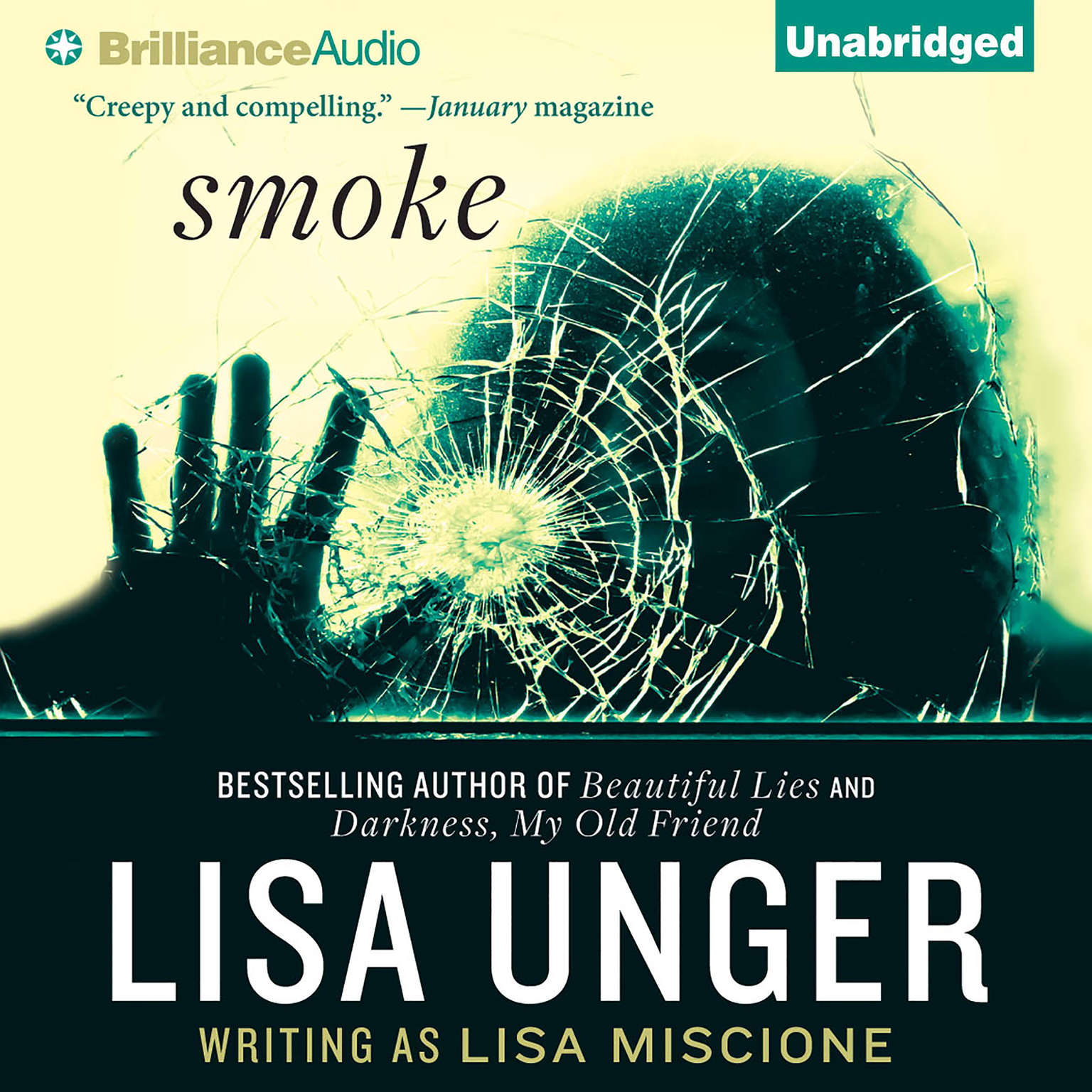 Printable Smoke: A Novel Audiobook Cover Art