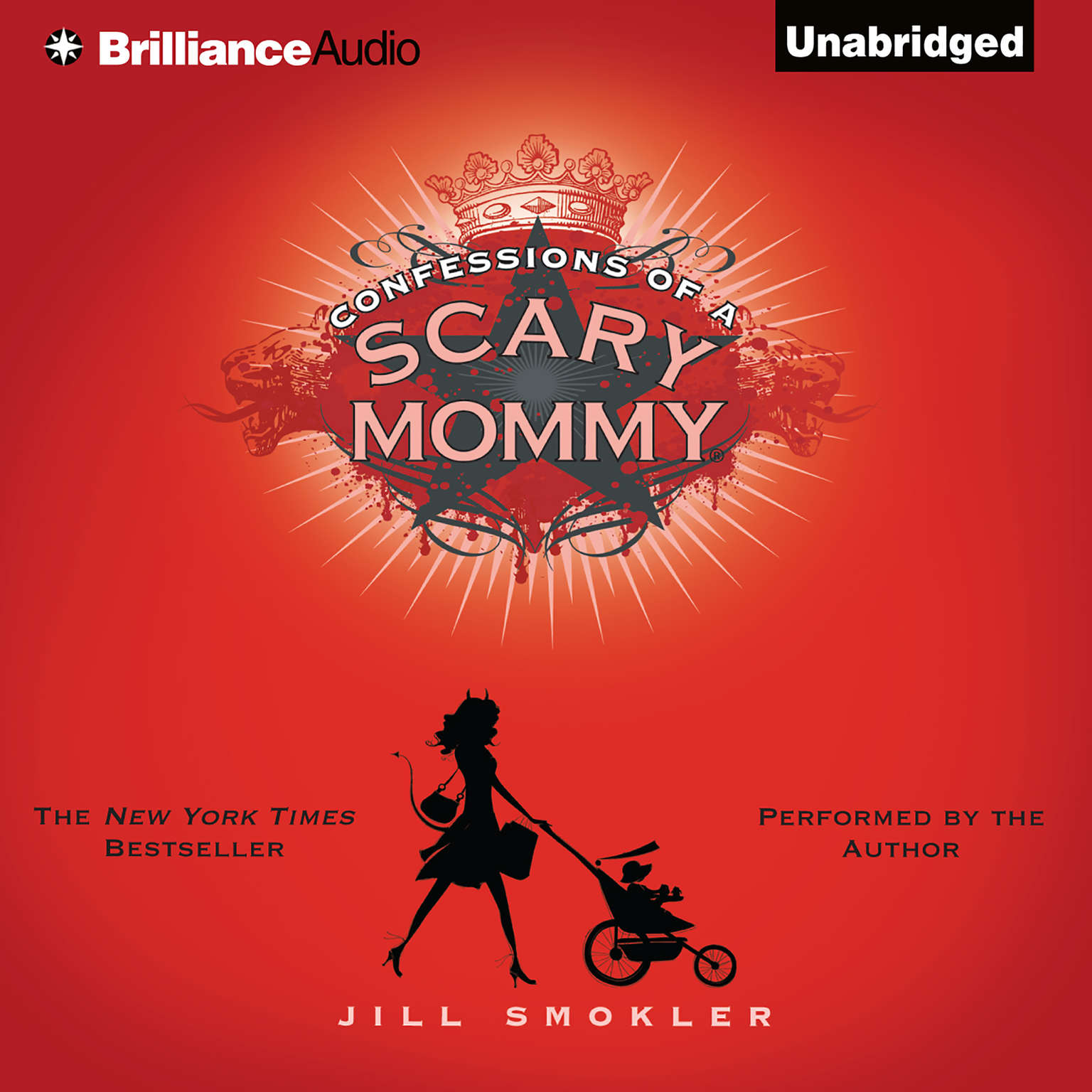 Printable Confessions of a Scary Mommy: An Honest and Irreverent Look at Motherhood - The Good, The Bad, and the Scary Audiobook Cover Art