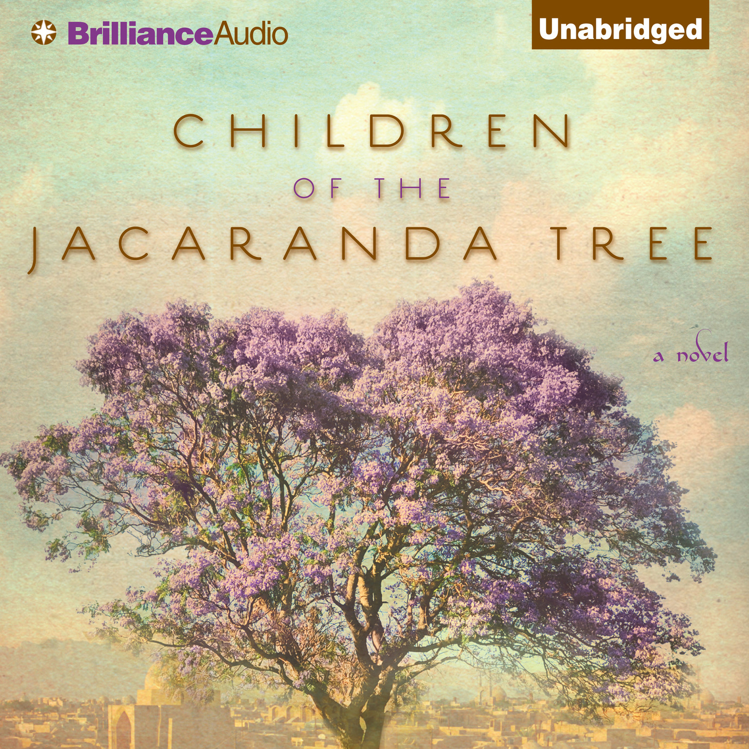 Printable Children of the Jacaranda Tree Audiobook Cover Art
