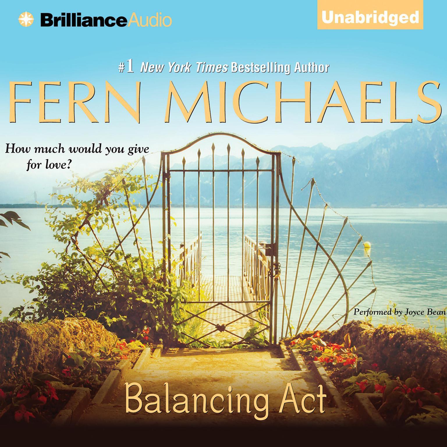 Printable Balancing Act Audiobook Cover Art