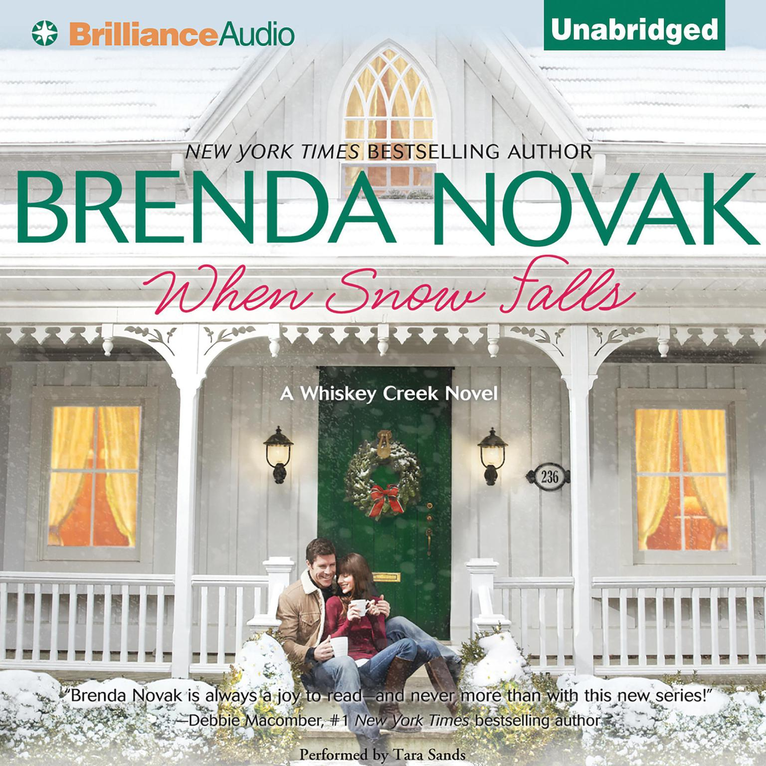 Printable When Snow Falls Audiobook Cover Art