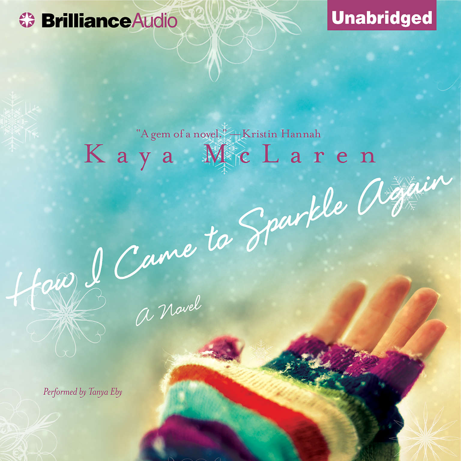 Printable How I Came to Sparkle Again: A Novel Audiobook Cover Art