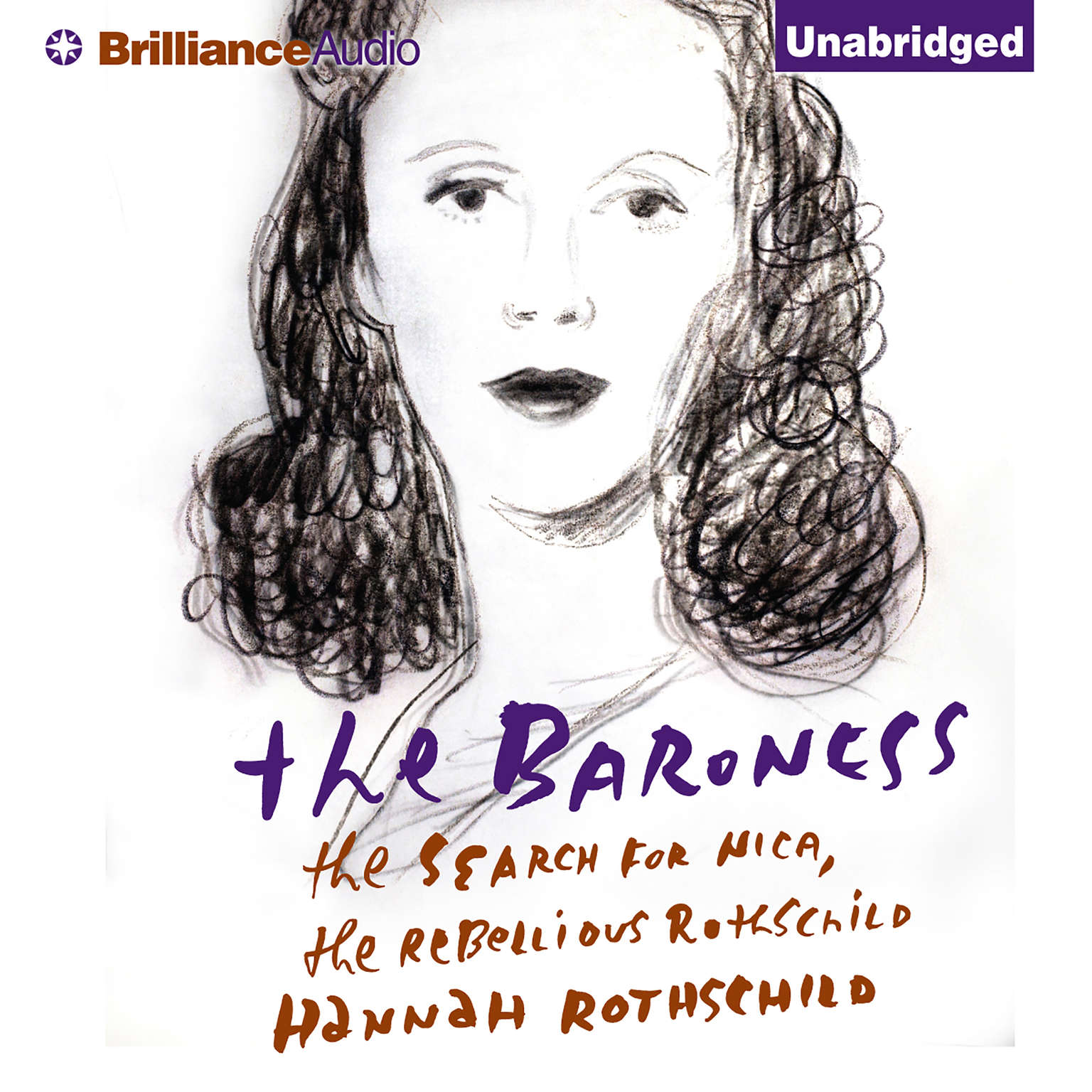 Printable The Baroness: The Search for Nica, the Rebellious Rothschild Audiobook Cover Art