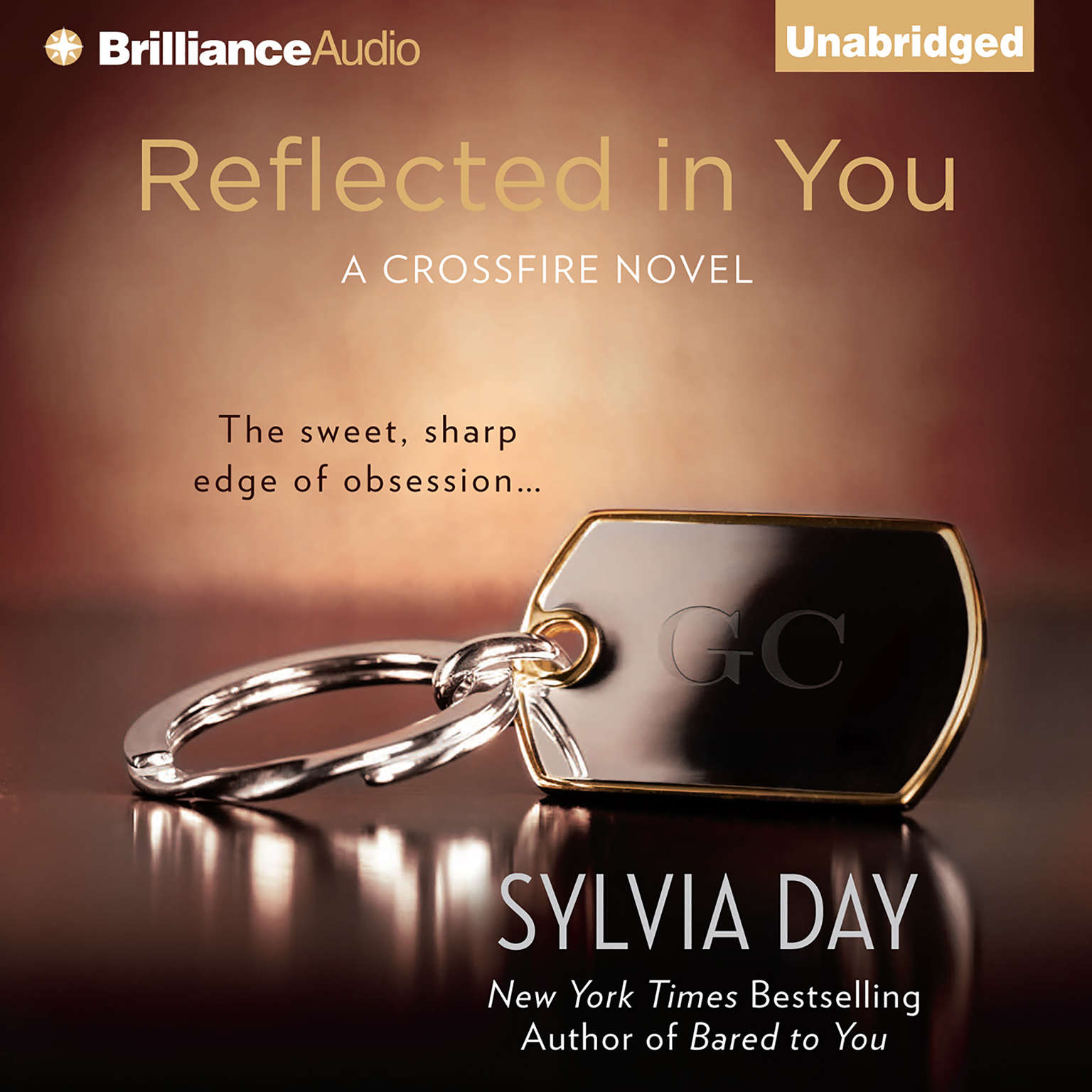 Printable Reflected in You Audiobook Cover Art