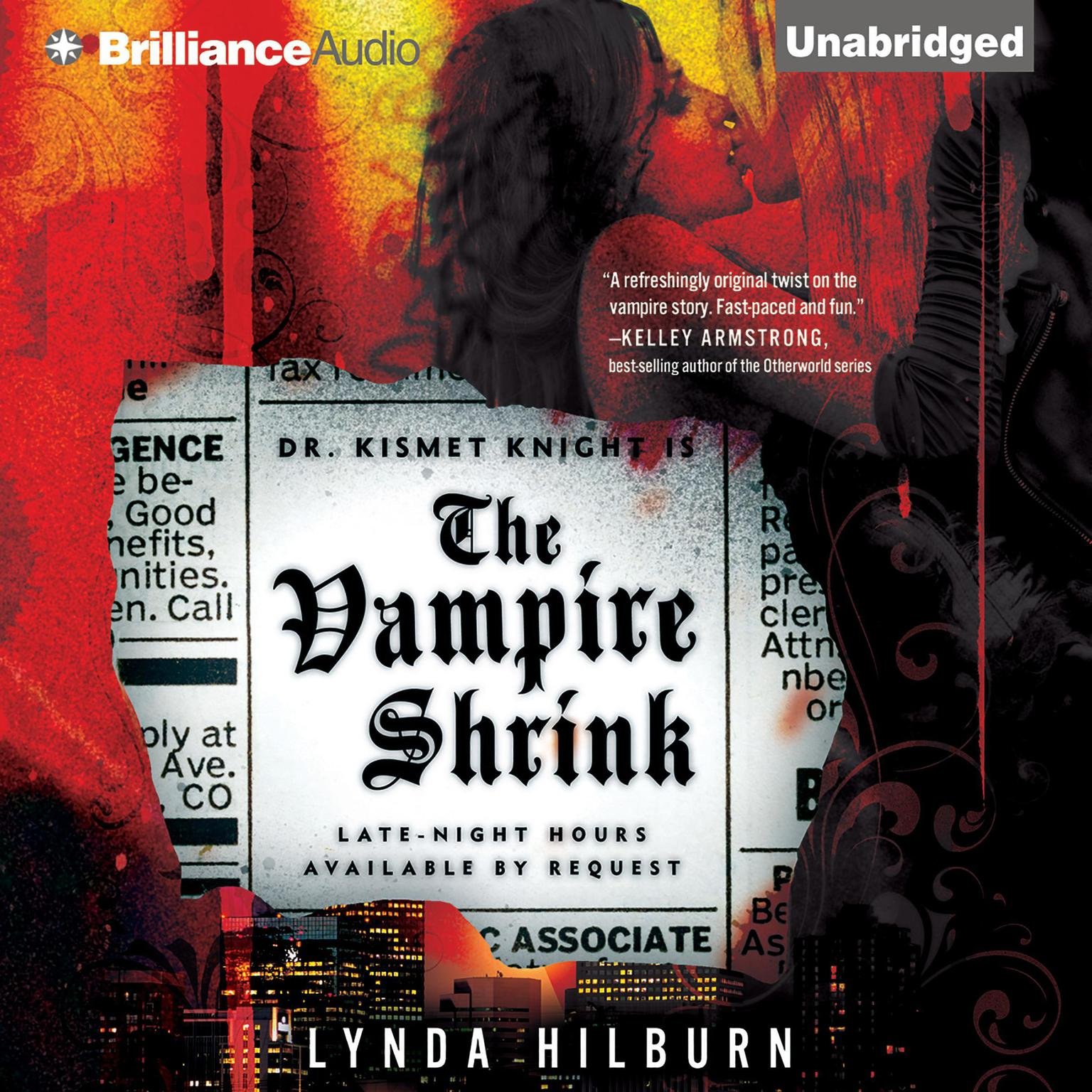 Printable The Vampire Shrink Audiobook Cover Art